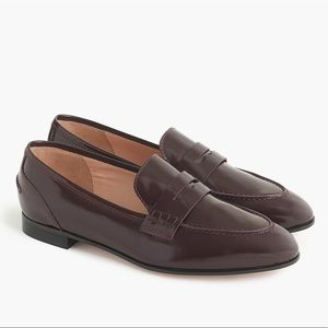 J. Crew Academy Penny Loafers Burnished Beet